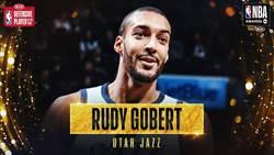NBA》戈貝爾擊敗兩強敵奪年度最佳防守