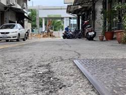 捷運工地周圍路面龜裂 地方盼修復