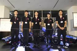 北科大師生打造新賽車 將赴日參加方程式大賽