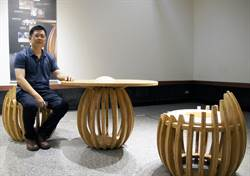 玉山美術獎首獎吳明錩  展現竹材蛋形曲面工藝美學