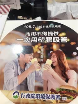 SOGO限塑 餐廳內用不提供吸管