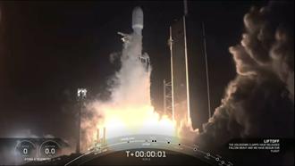 福衛7號衛星25日下午2點30分成功發射升空  蔡英文總統全程觀禮