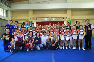 最佳城市外交 仁美國小啦啦隊到南京參賽獲四金二銀