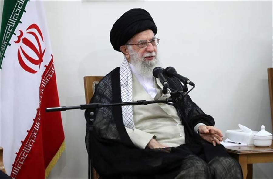 伊朗最高領袖哈米尼(圖/美聯社)