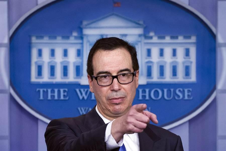 為了避免在G20川習會前觸怒北京,傳美國財政部長梅努欽暫時擱置高達20億美元的對台軍售案。(圖/美聯社)
