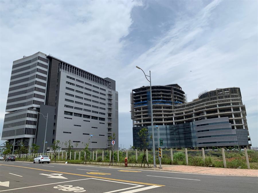 ▲中華郵政物流園區進駐,將帶來大量就業人潮。