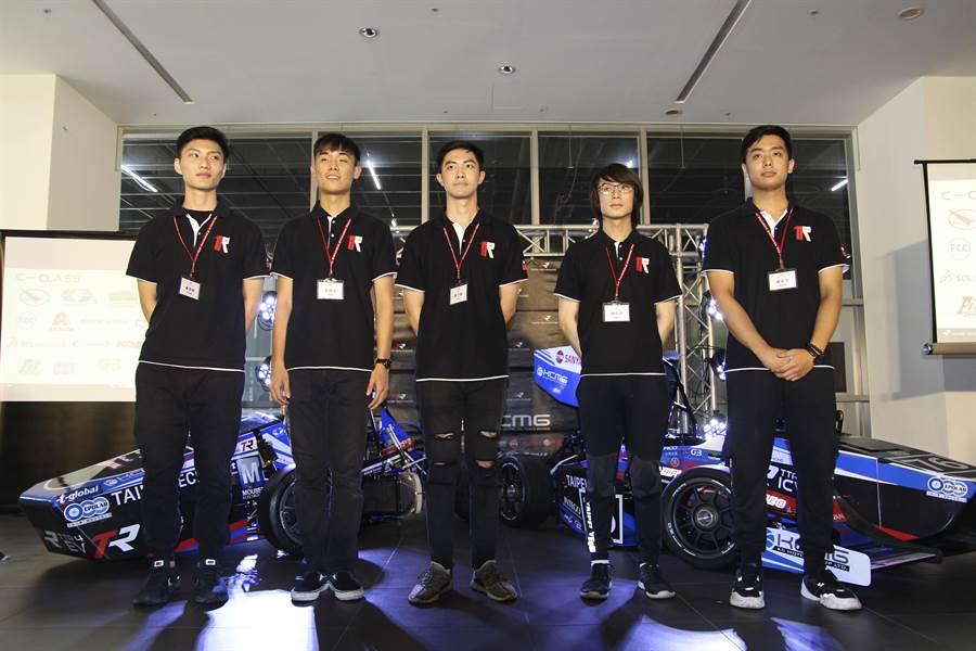 「臺北科大學生方程式賽車隊-Taipei Tech Racing」將於8月27日將赴日參加國際學生方程式賽車大賽(FSAE)。(北科大提供)