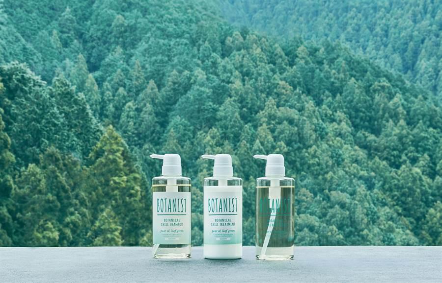 BOTANIST以「療癒森林」為主題推出夏季限定系列新品。(圖/品牌提供)