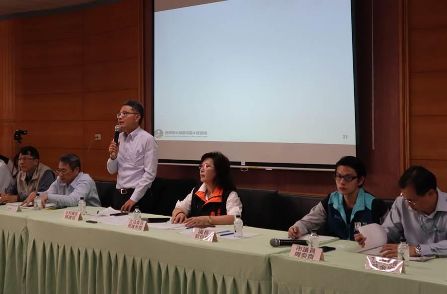 即將於8月上網招標的「曾文南化聯通管工程計畫」,已舉辦過多次公聽會與協調會。(劉秀芬攝)