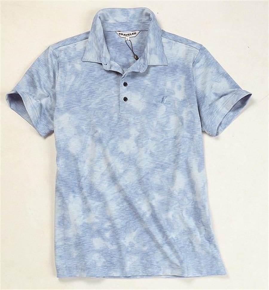 SOGO天母店Traveler消臭吸排上衣,原價1680元、特價1260元,限量15件。(SOGO提供)