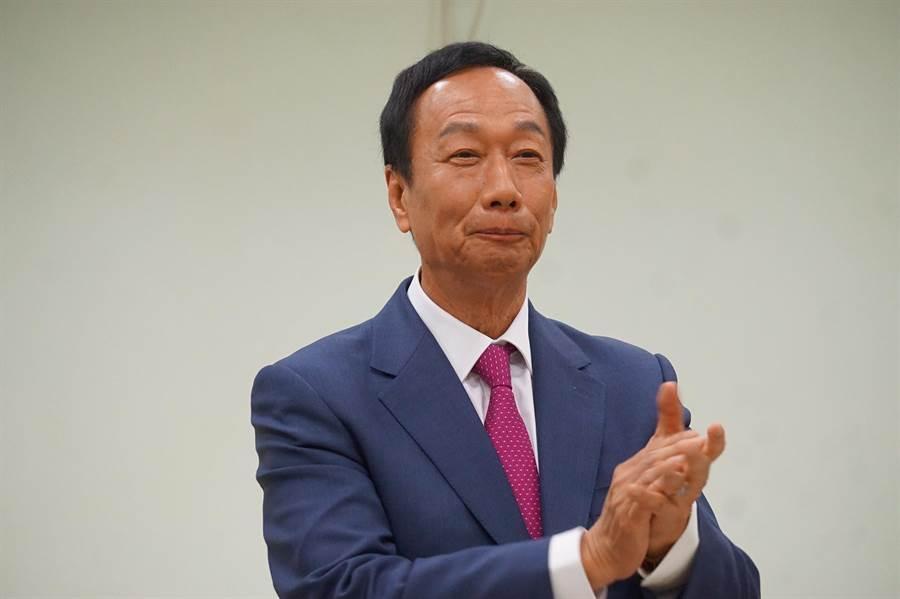 前鴻海董事長郭台銘。(資料照/柯宗緯攝)