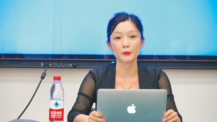 中國社科院亞太與全球戰略研究員高程,剖析中美博弈及一帶一路發展的階段性任務。(記者陳柏廷攝)