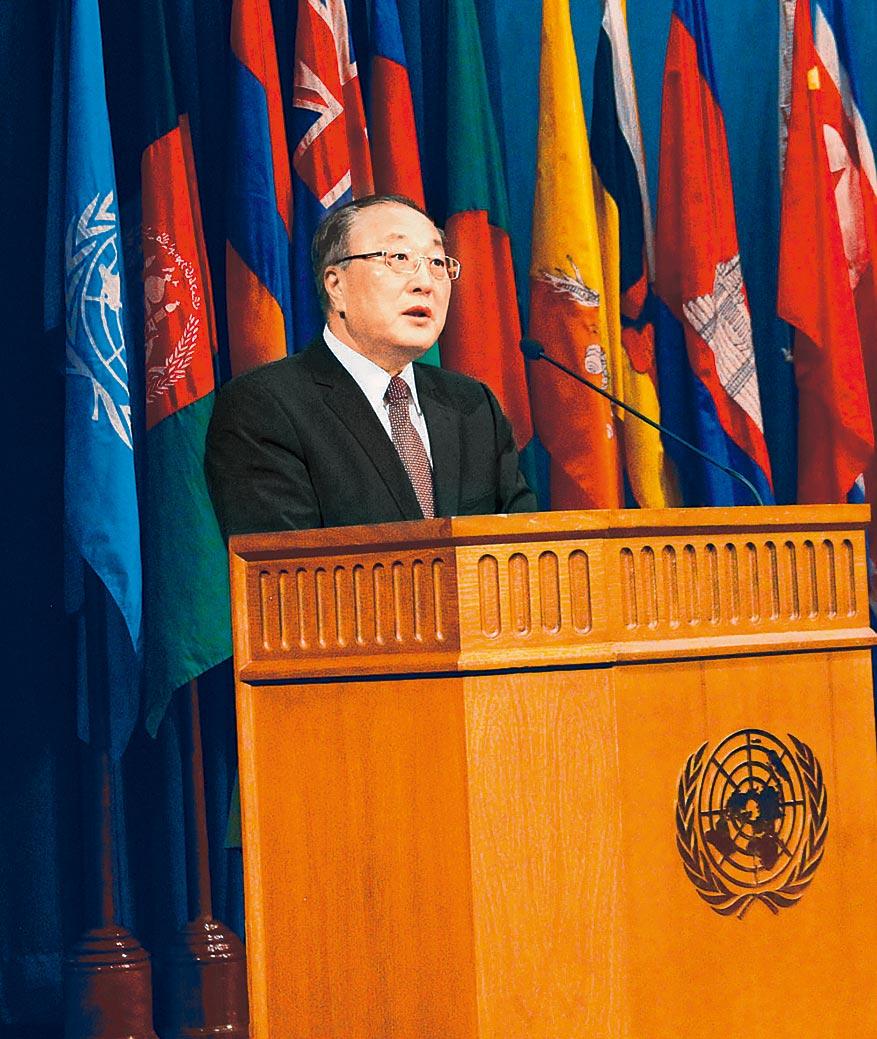 大陸外交部部長助理張軍。(中新社資料照片)