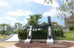 煙囪遊戲塔、隧道遊戲牆!華山大草原遊戲場今起開放