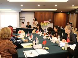 我國與歐盟共同舉辦性別平權與人權系列培訓課程,性別主流化工作坊圓滿成功