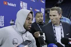 NBA》伊戈達拉爆勇士去年也謊報傷情