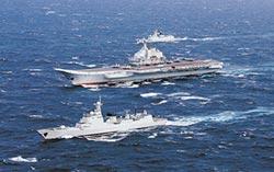 大阪習川會前 陸航母穿越台海