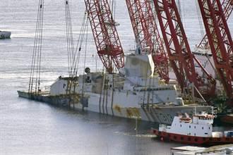 修復擱淺護衛艦比買新的貴 挪威:報廢算了