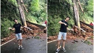 偶像男星深山遇檜木突斷裂    關鍵6分鐘驚呆