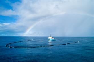 捲海重來 !海洋清理網再次出動捕垃圾