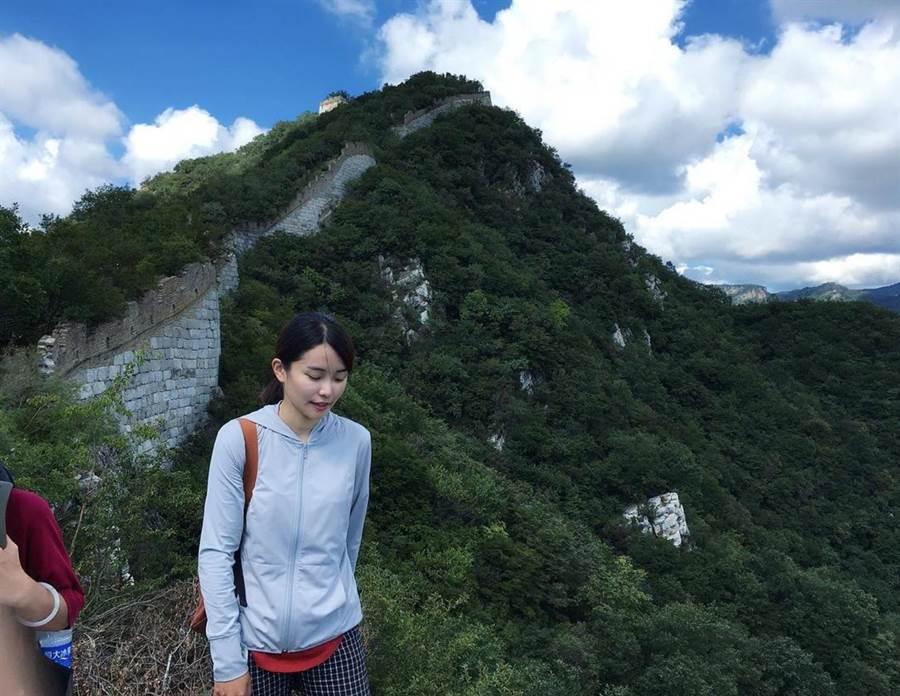 陳凱薫在碩士班期間遊歷四方,足跡遍佈尼泊爾、日本、泰國、大陸、法國、德國、韓國等地。(陳凱薫提供)