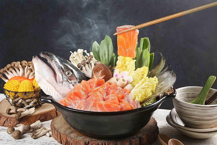 鮭魚石狩鍋。(圖取自活動官網)