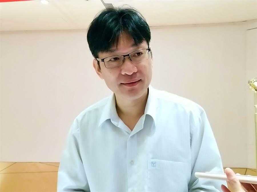 好樂迪財務長暨發言人李俊德。(林資傑攝)