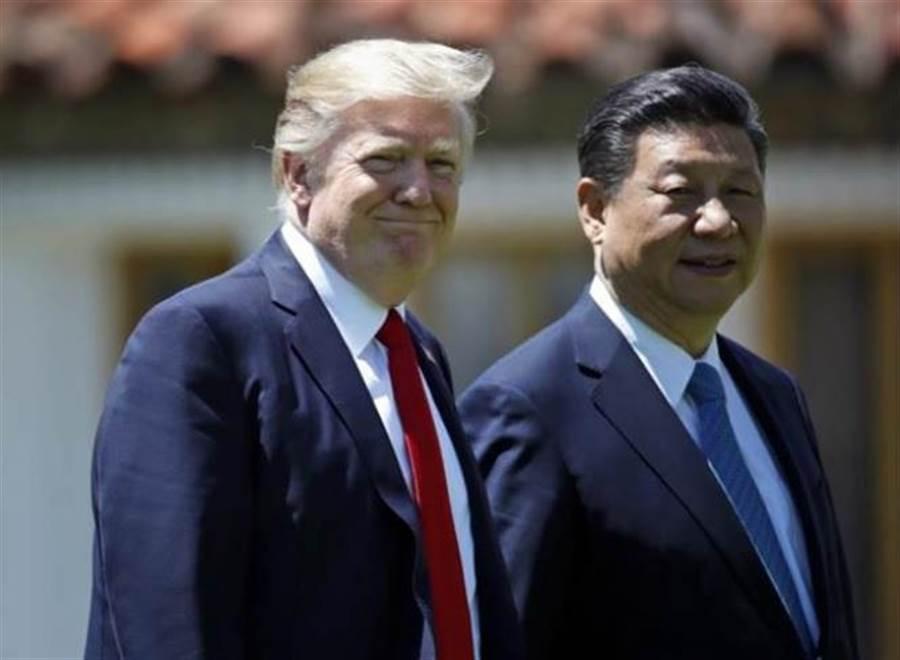 美國總統川普(左)與大陸國家主席習近平(右)。(本報系資料照片)