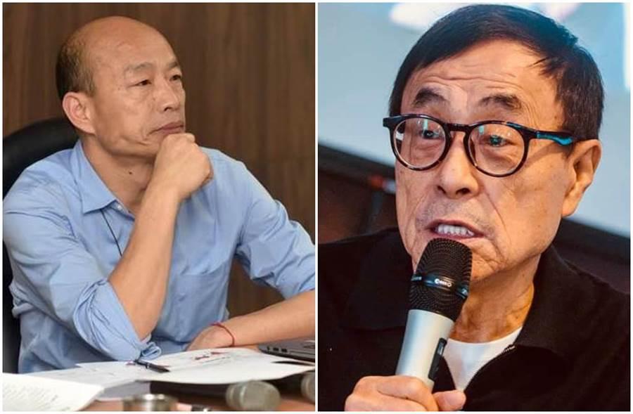 劉家昌呼籲韓國瑜立刻宣布參選到底。(圖/劉家昌、韓國瑜臉書)