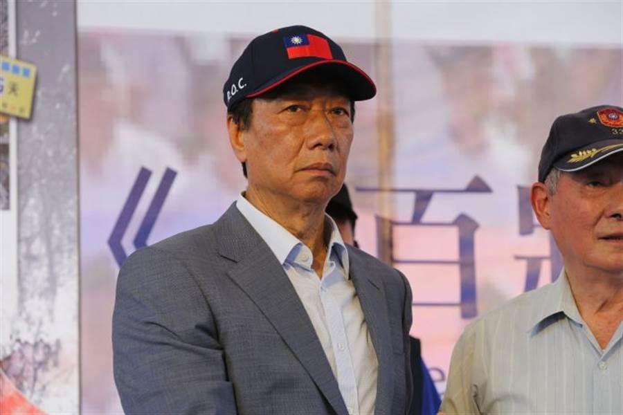 前鴻海董事長郭台銘。(資料照片)
