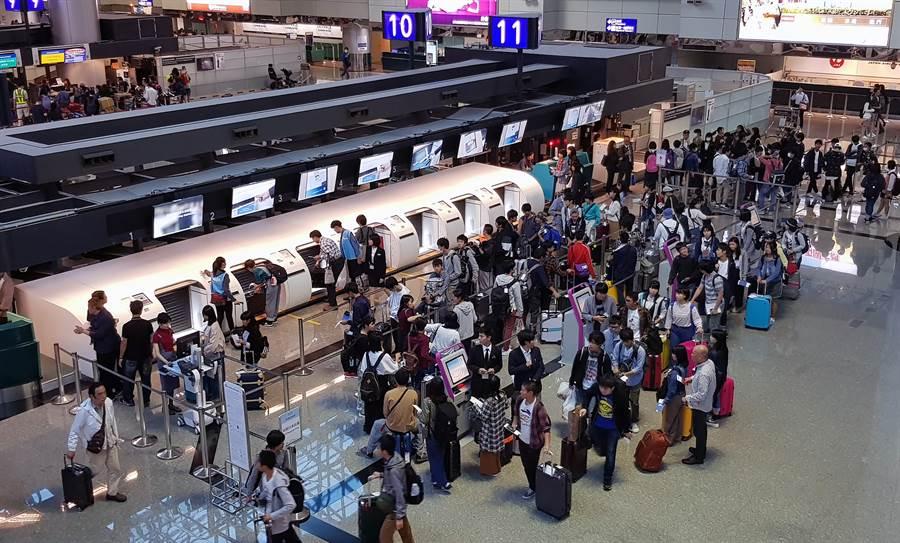 交通部估今1萬名台灣人返國,安排逾600輛防疫車輛待命接機。(示意圖/桃機公司提供)