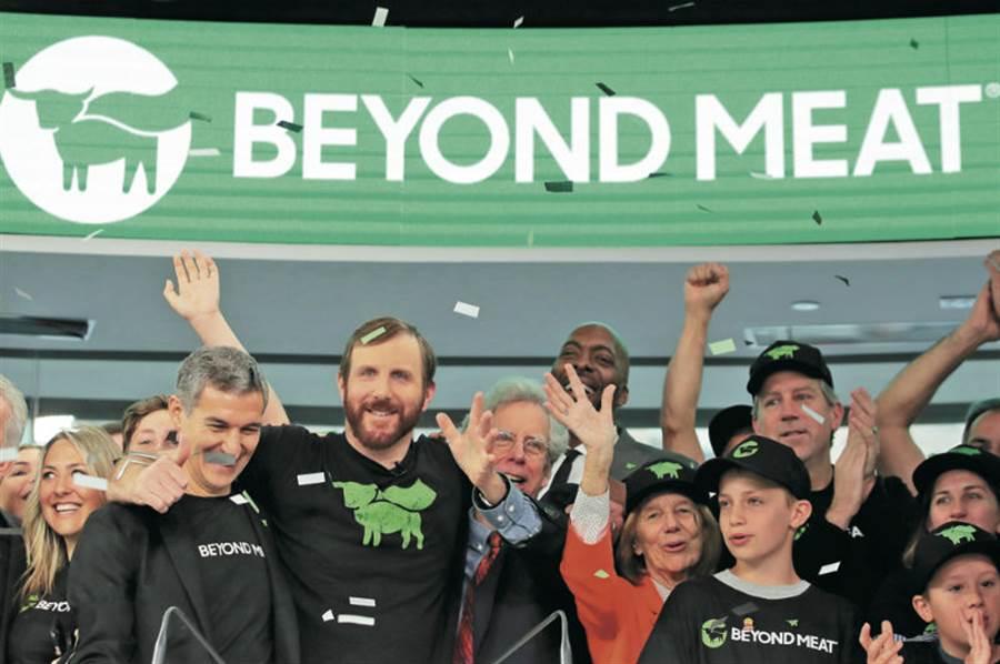 Beyond Meat暴紅傳奇,成了近來華爾街矚目的焦點。(圖/達志)