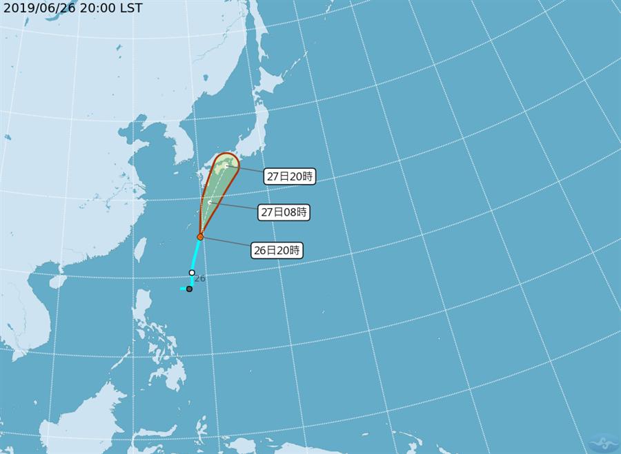 颱風消息。(圖/氣象局)