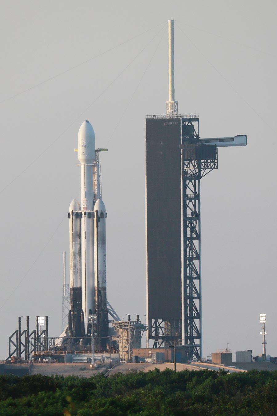 獵鷹重型火箭順利將福衛七號送上太空。  圖/國研院提供