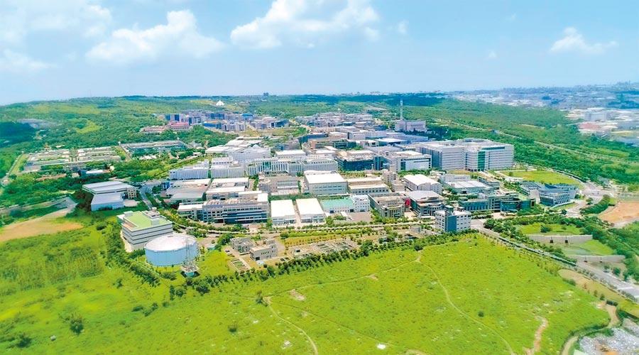 台中市府規畫將22處都市計畫工業區納入獎勵範圍,吸引廠商投資,圖為台中精密科學園區。(台中市府提供)
