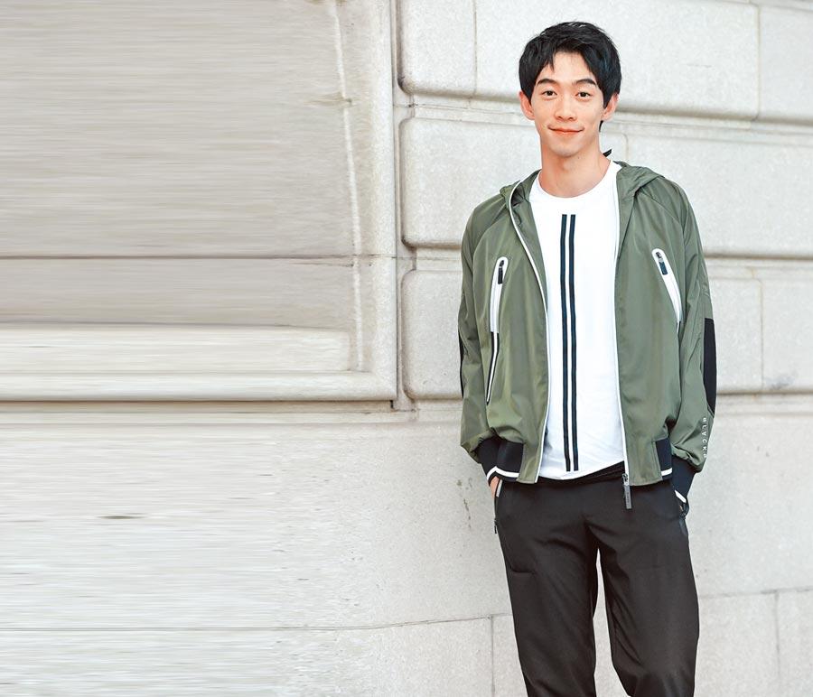 王可元演出的角色雖然都頗有難度,但也讓他的演技被認可。(盧禕祺攝)