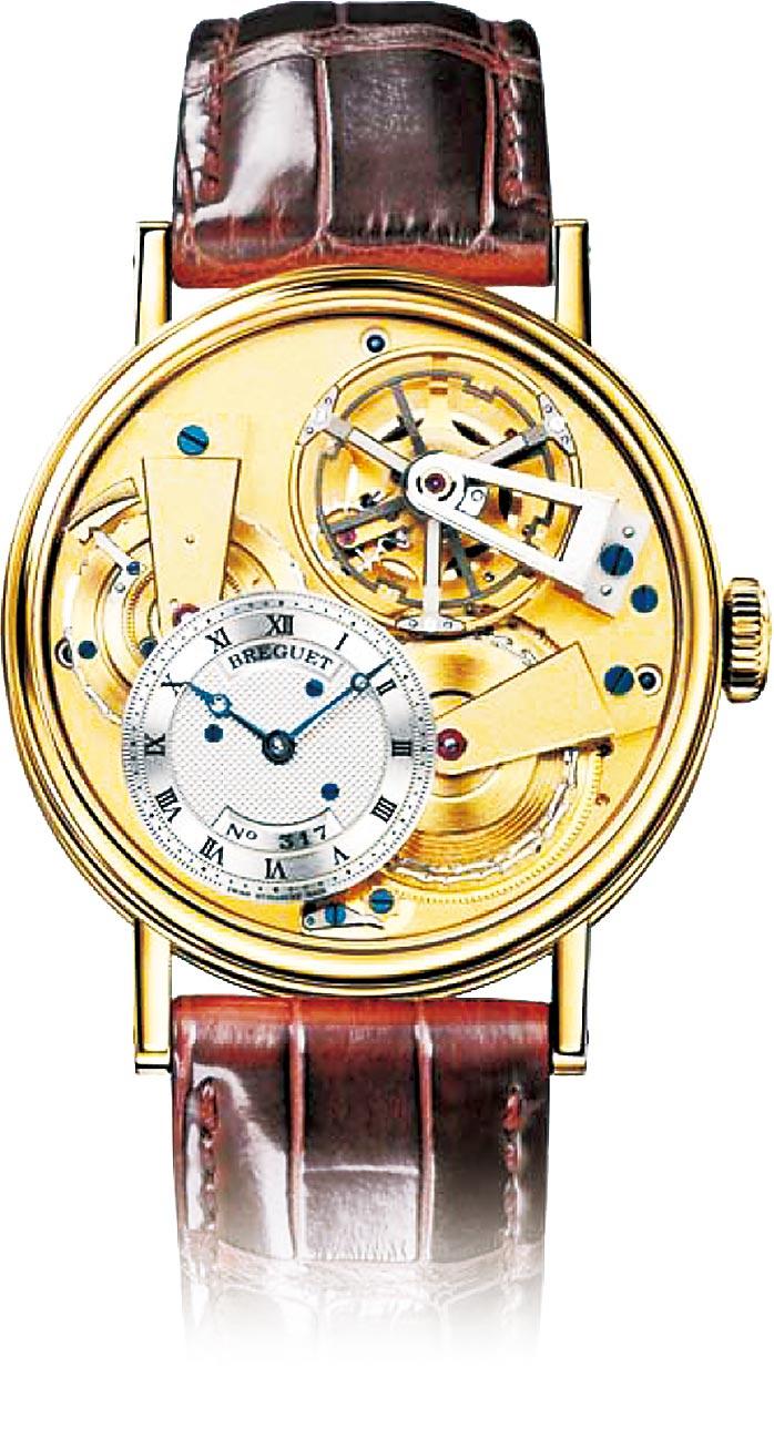 寶璣Tradition Tourbillon 7047BA傳世系列陀飛輪腕表,564萬4000元。(Breguet提供)