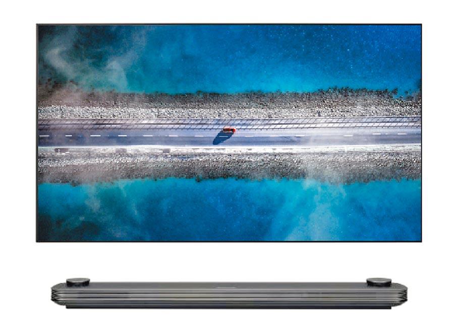 LG SIGNATURE OLED TV W9,42萬9000元。(LG提供)