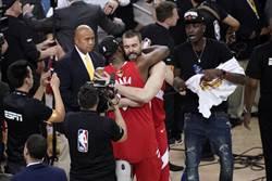 NBA》留守暴龍!馬克蓋索執行下季合約