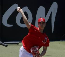 MLB》回二刀流更進一步 大谷首度正式練投