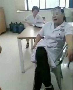 最跩女醫生 蹺二郎腿這樣嗆病患