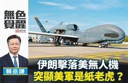 賴岳謙:伊朗擊落美無人機 突顯美軍是紙老虎?