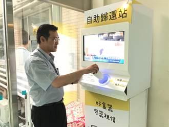 光田力推減塑率全國醫界之先 引進容器租借駐點