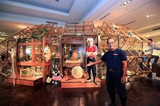 這夏有木憩~123木頭人─南台灣首站於新光三越台南新天地
