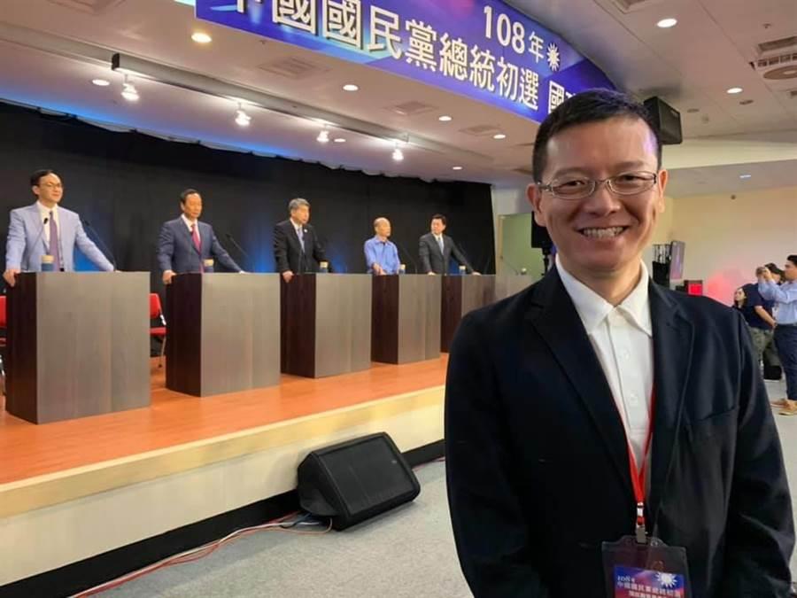 前立法委員孫大千。(圖/取自孫大千臉書)