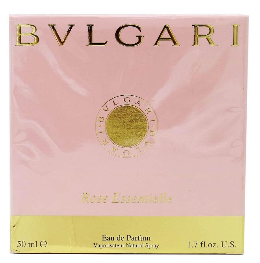 百貨專櫃出售的BVLGARI香水,百元起拍。(台北分署提供)