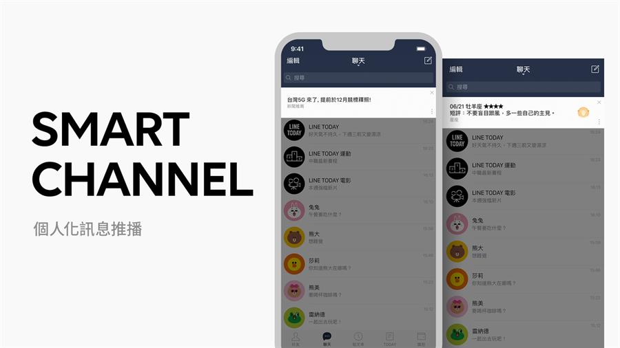 LINE 在台正式推出「Smart Channel (個人化訊息推播) 」功能。(圖/翻攝LINE BLOG)