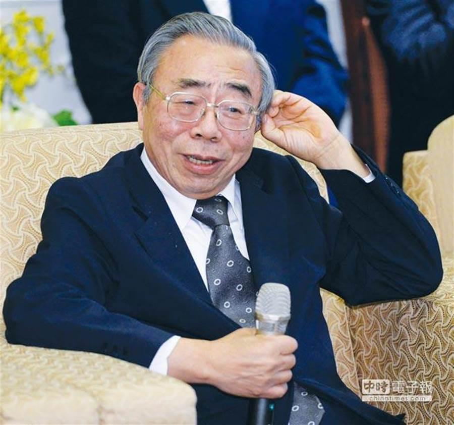 台塑總裁王文淵。(資料照)