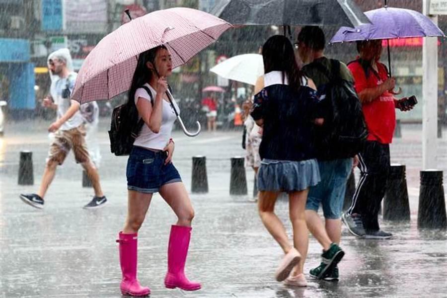 圖為大雨。(資料照)