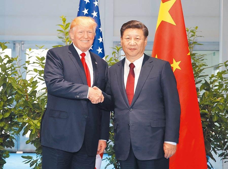 美中先達成貿易戰休兵,北京才同意在大阪舉行習川會談。(圖/新華社)